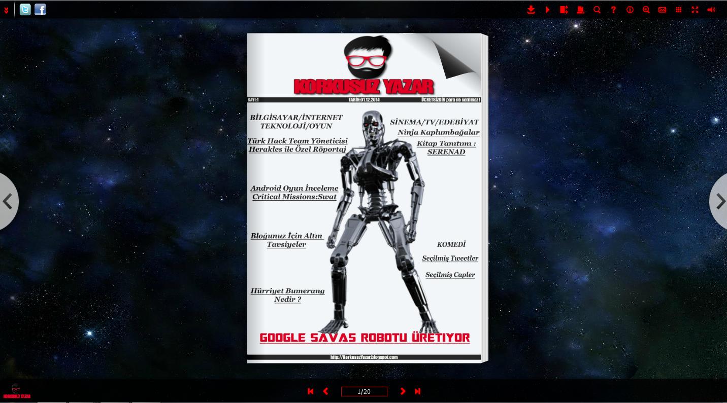 Dijital Dergi (E-Dergi) Online 3 Boyutlu (Sayfa ÇevirmeEfektli) Dergi Nasıl Yapılır ?