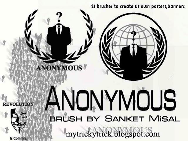 anonymous brushes, brushes on anonymous,anonymous wallpapers,photoshop brushes,anonymous photoshop brushes