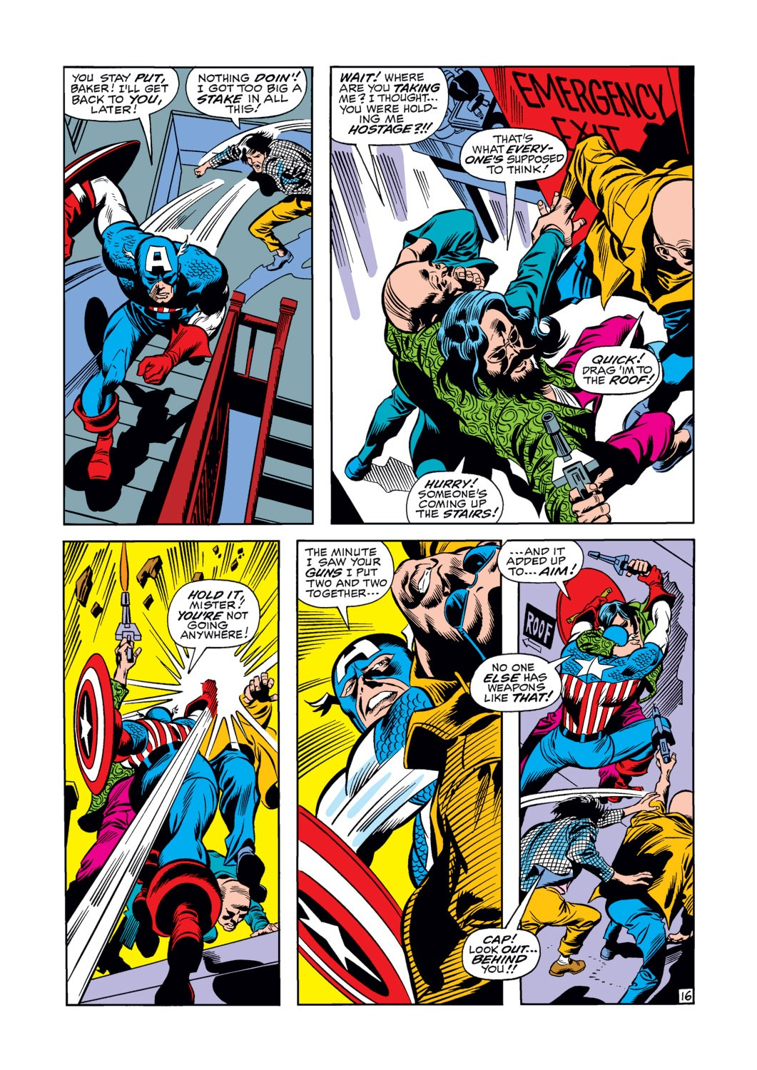 Captain America (1968) Issue #120 #34 - English 17