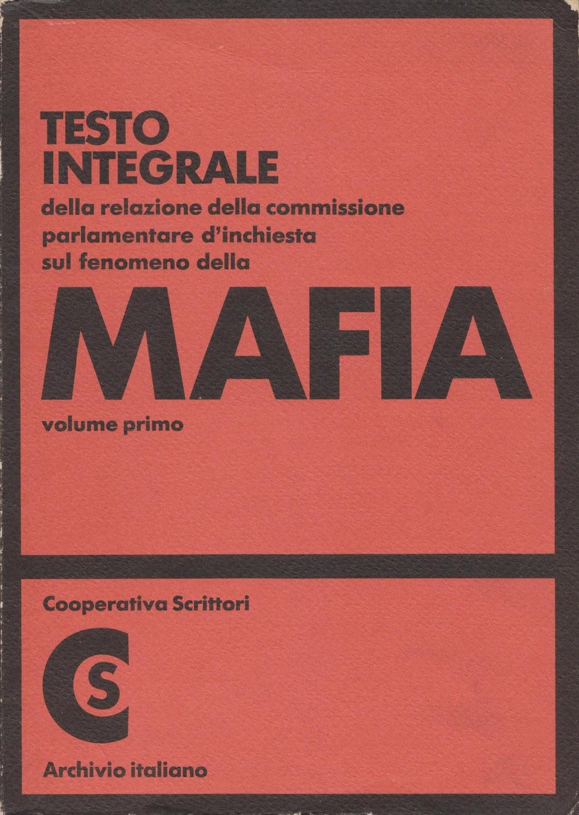 Archivio carta stampata inchiesta sul fenomeno della mafia for Email senatori italiani
