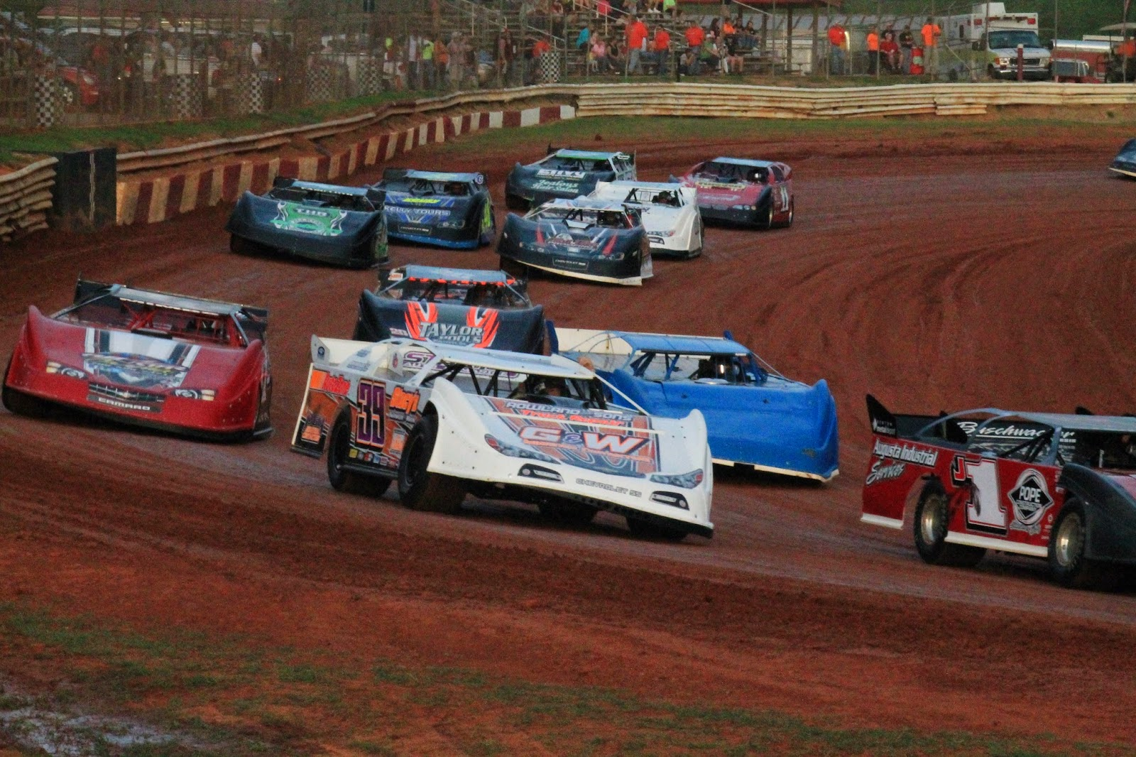 Purvis Family Venue Support Great Side by Side Dirt Track Action at it's Finest!!