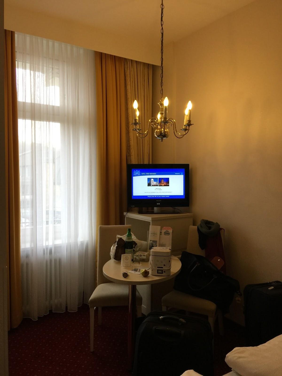 aswana cliche hamburg 1 night stay in hotel fuerst bismarck. Black Bedroom Furniture Sets. Home Design Ideas