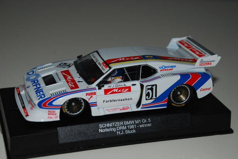 Manicslots Slot Cars And Scenery News Racer Bmw M1 Gr 5