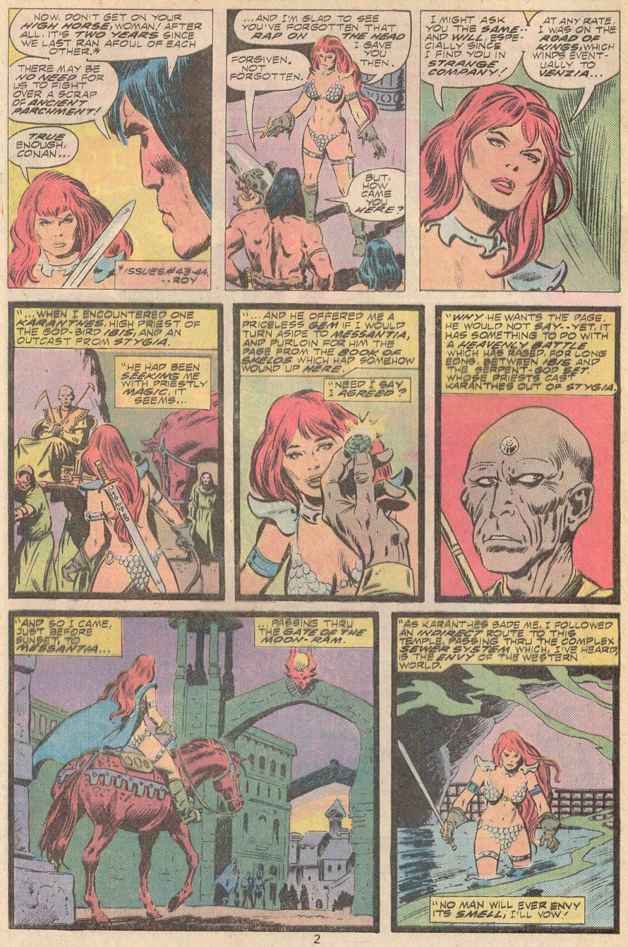 Conan the Barbarian (1970) Issue #67 #79 - English 3