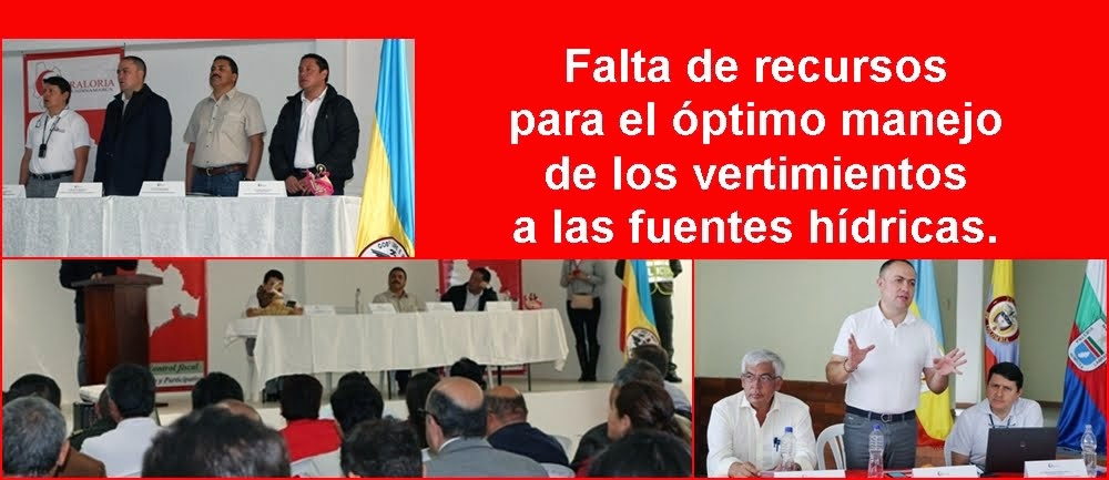 CUNDINAMARCA: Funciones de Advertencia en Almeidas dejan al descubierto problemas en PTAR