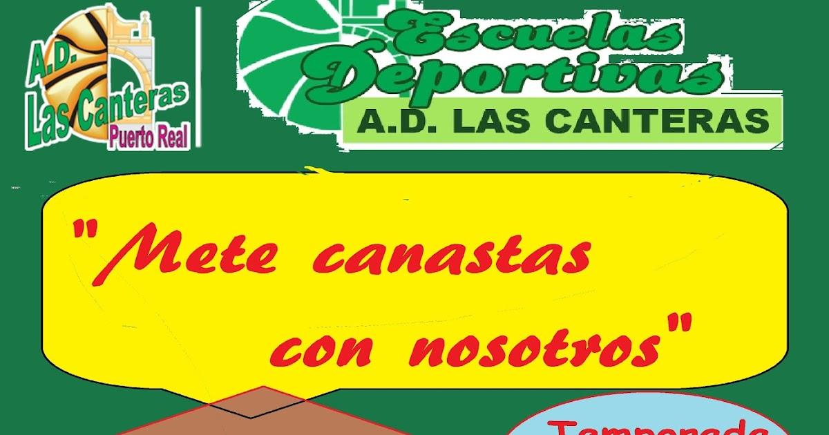 A d las canteras campa a de inscripci n en ad las canteras 2015 2016 mete canastas con nosotros - Las canteras puerto real ...