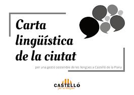 CARTA LINGÜÍSTICA DE LA CIUTAT