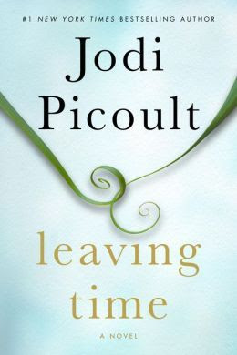 Leaving Time by Jodi Picoult is her latest novel, and it gets 4 stars in this book review. This adult fiction novel is quite clean of a read, has a surprise ending, a bit of a mystery, and a different Picoult type of book.  Alohamora Open a Book  http://www.alohamoraopenabook.blogspot.com/ Good book, not great.  Psychic, supernatural, ghosts, mystery, elephants, scientists,