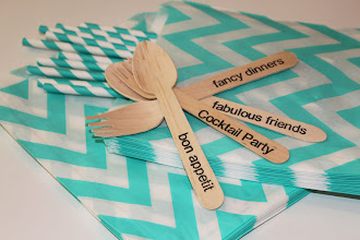 TRENDY CHEVRON FAVOR BAGS