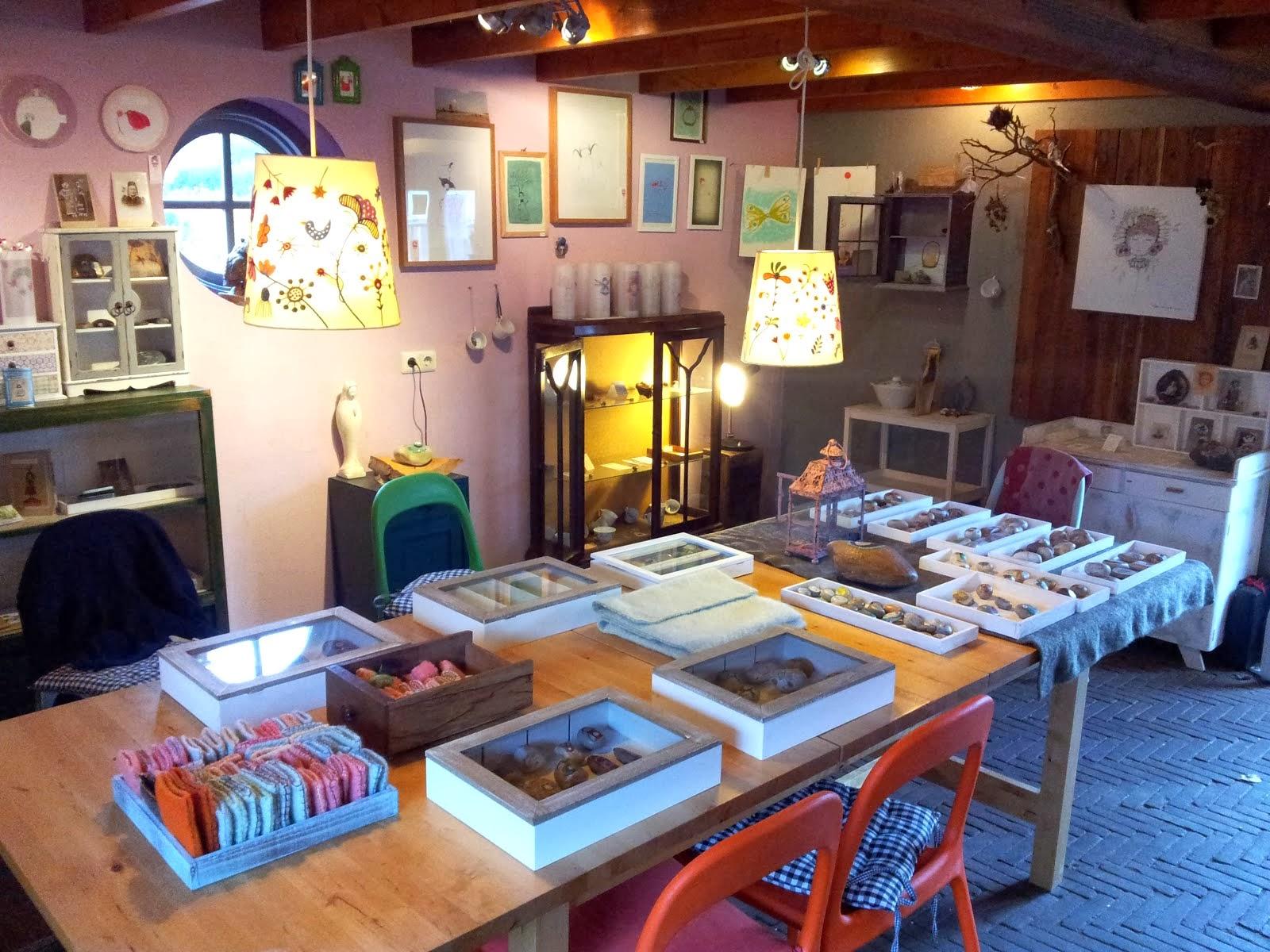 Ons atelier op den Heyligen berg, klik op de afbeelding.