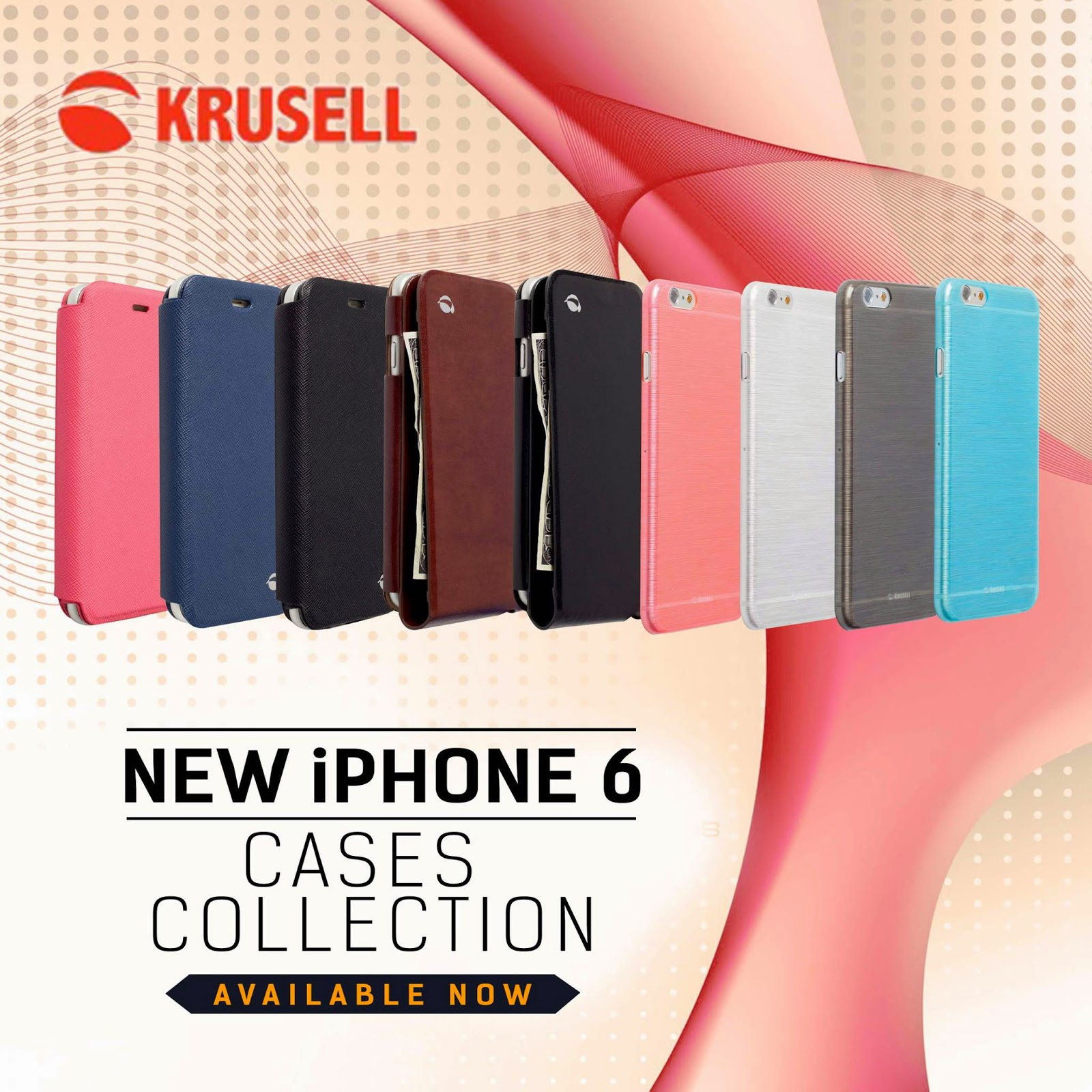 iPhone 6 Krusell casing from Kimstore