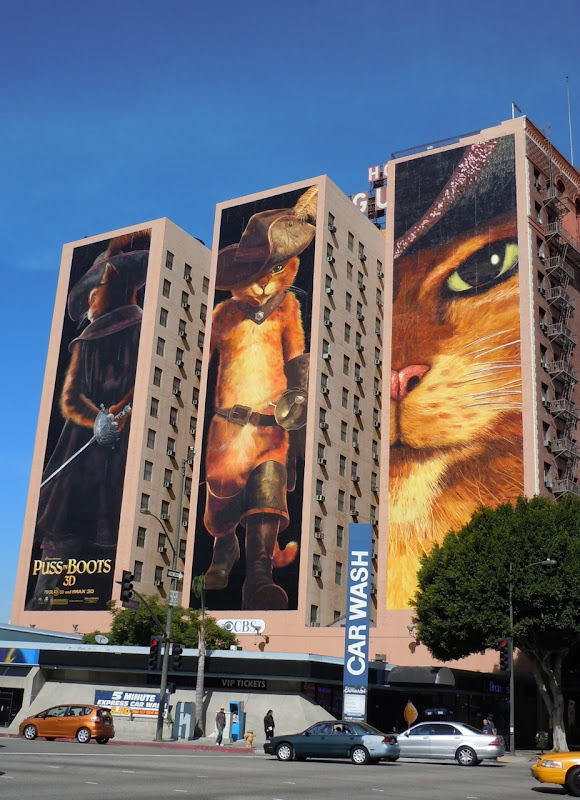 Puss in Boots billboards