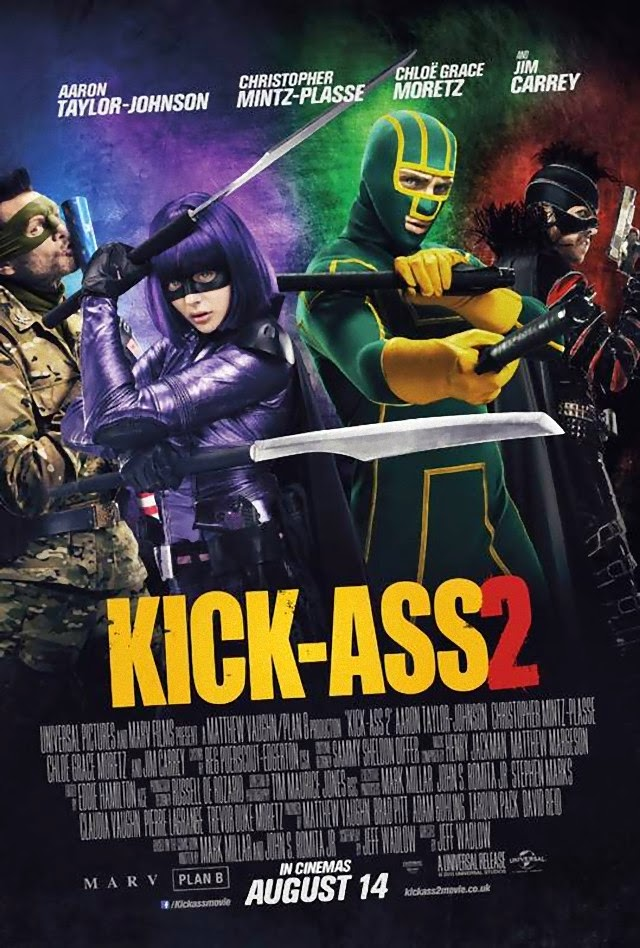 La película Kick Ass 2 ( Kick Ass 2: con un par )