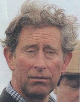 Prince Charles of Whales, heir to king of england Britain ugly hair day windy homely