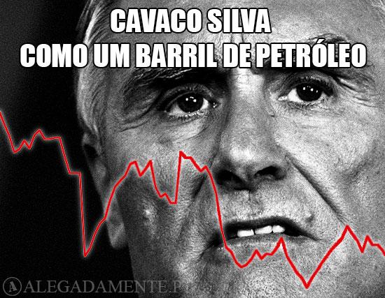 Imagem de Cavaco Silva – Cavaco Silva, um Barril de… Petróleo!
