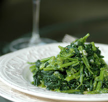 Sauteed Rapini with Garlic