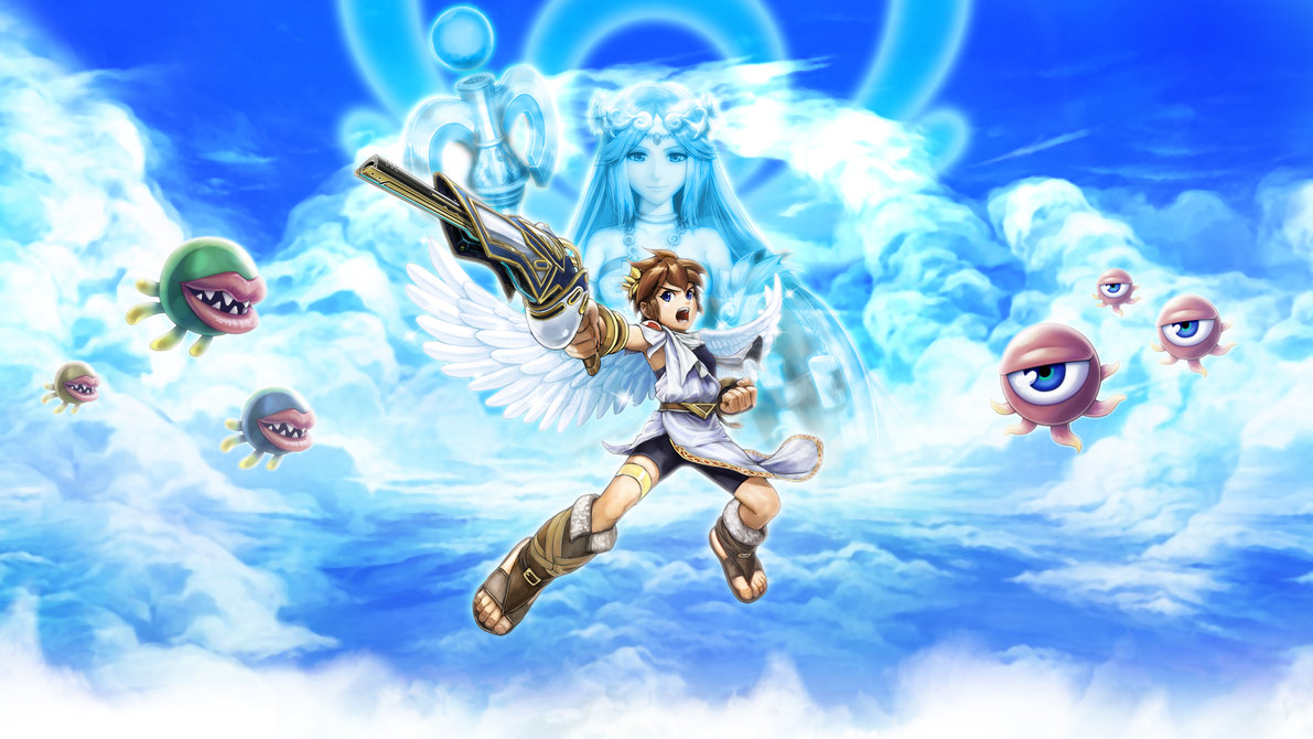 Kid Icarus HD & Widescreen Wallpaper 0.17911437442297