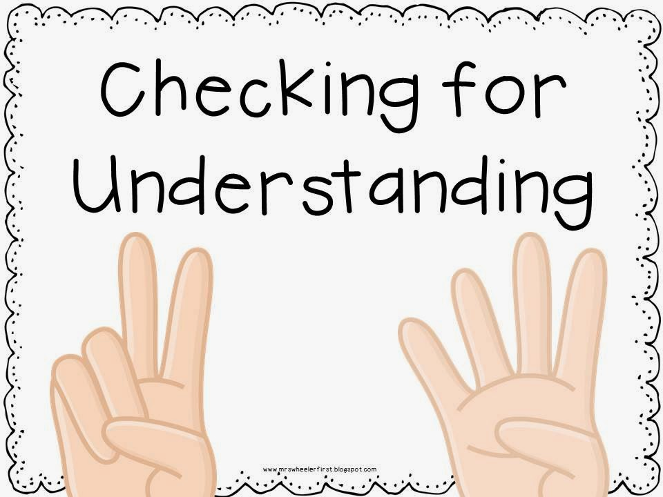 check understanding In this lesson you will learn how to check your understanding of an article by  answering the questions who, what, where, why, and how.