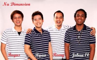 Profil Biodata dan Foto Personil Nu Dimension X Factor Indonesia Lengkap