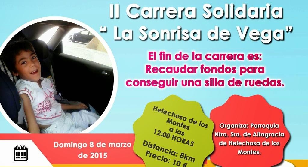 """II Carrera Solidaria """"La Sonrisa de Vega"""