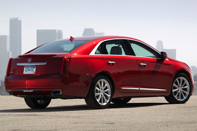 2015 Best Cadillac XTS Performance back side view
