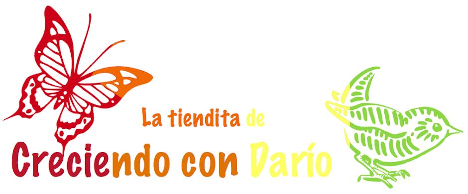 La tiendita de Creciendo con Darío