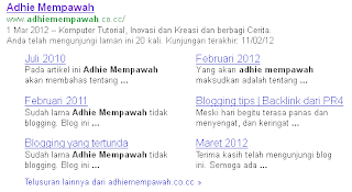Adhie Mempawah Blog kembali ke blogspot