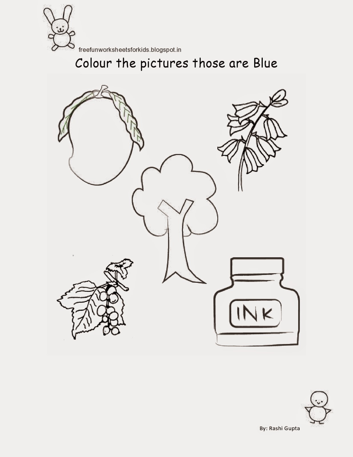 Free Fun Worksheets For Kids: February 2015