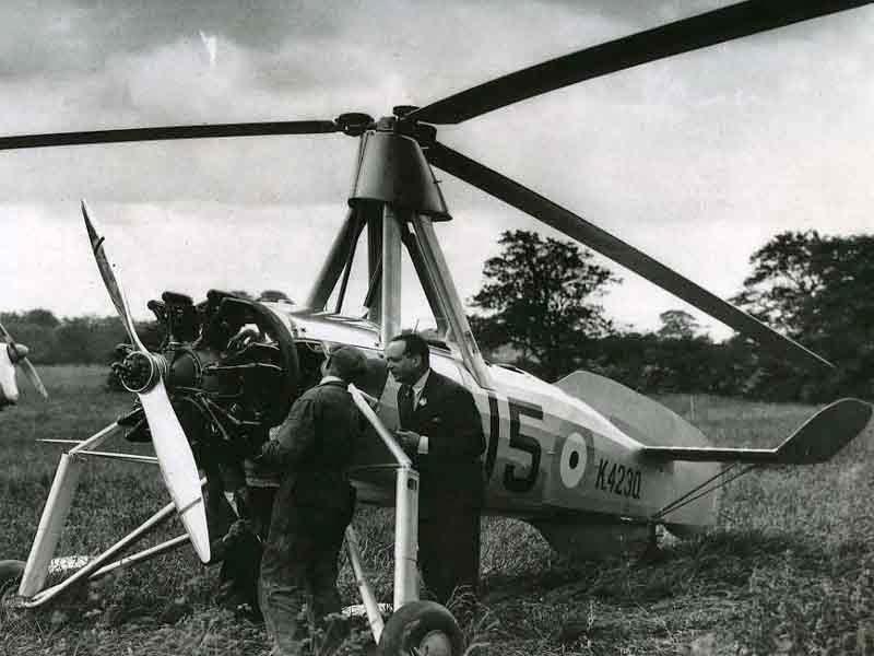 طائرة الاوتوجايرو,Auto giro
