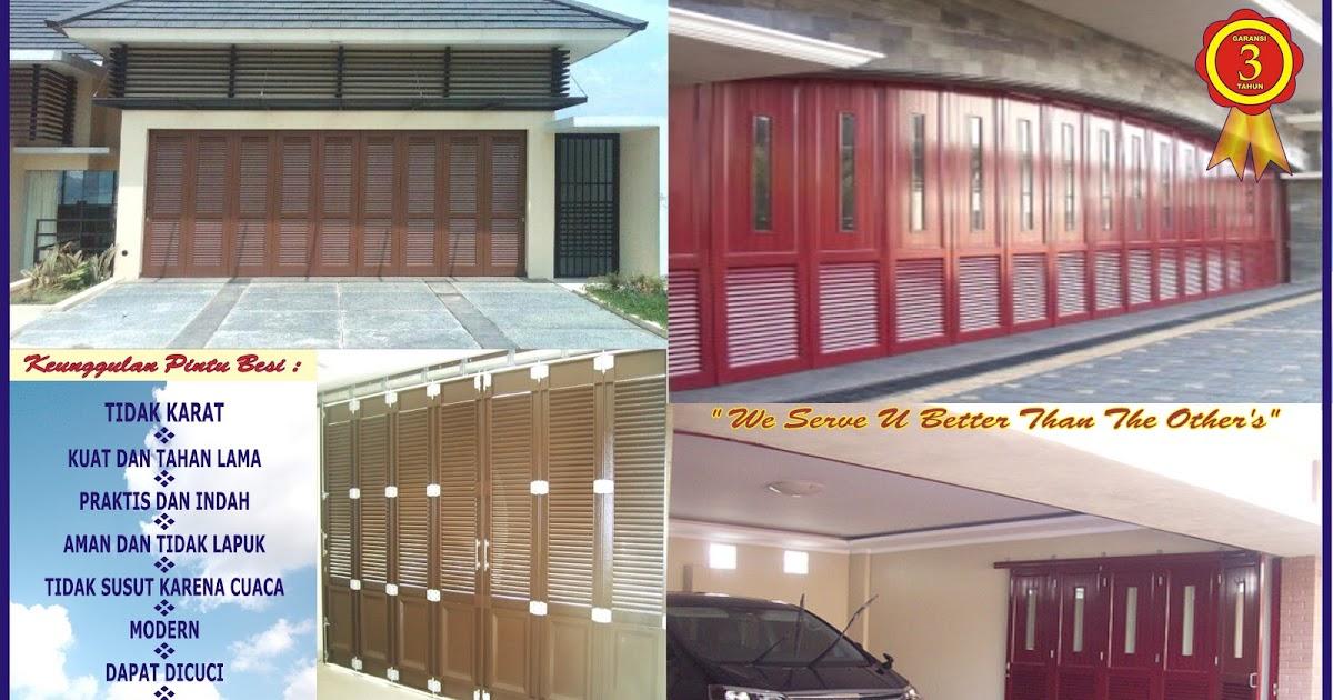 Sukses Mandiri Teknik Harga Pintu Besi Plat Rumah Minimalis