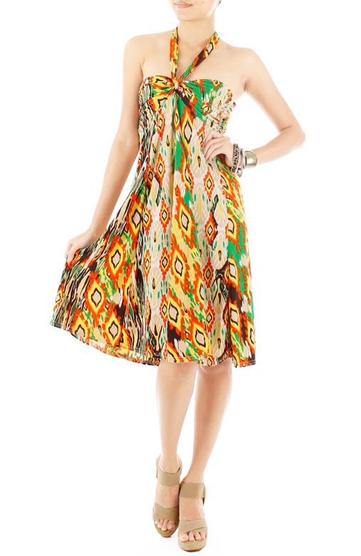 Wild Love Beach Dress - Orange