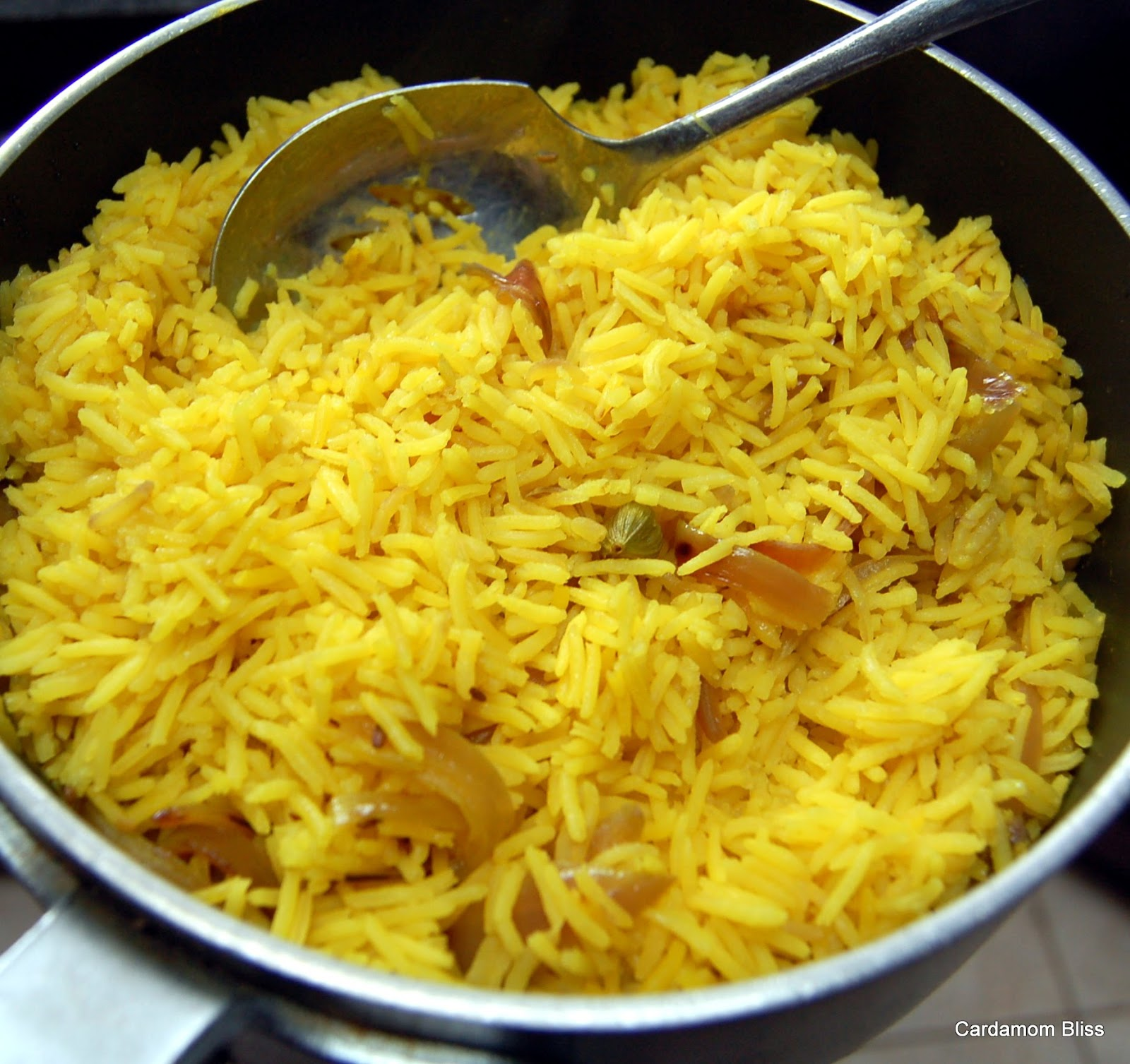 how to cook with turmeric rice