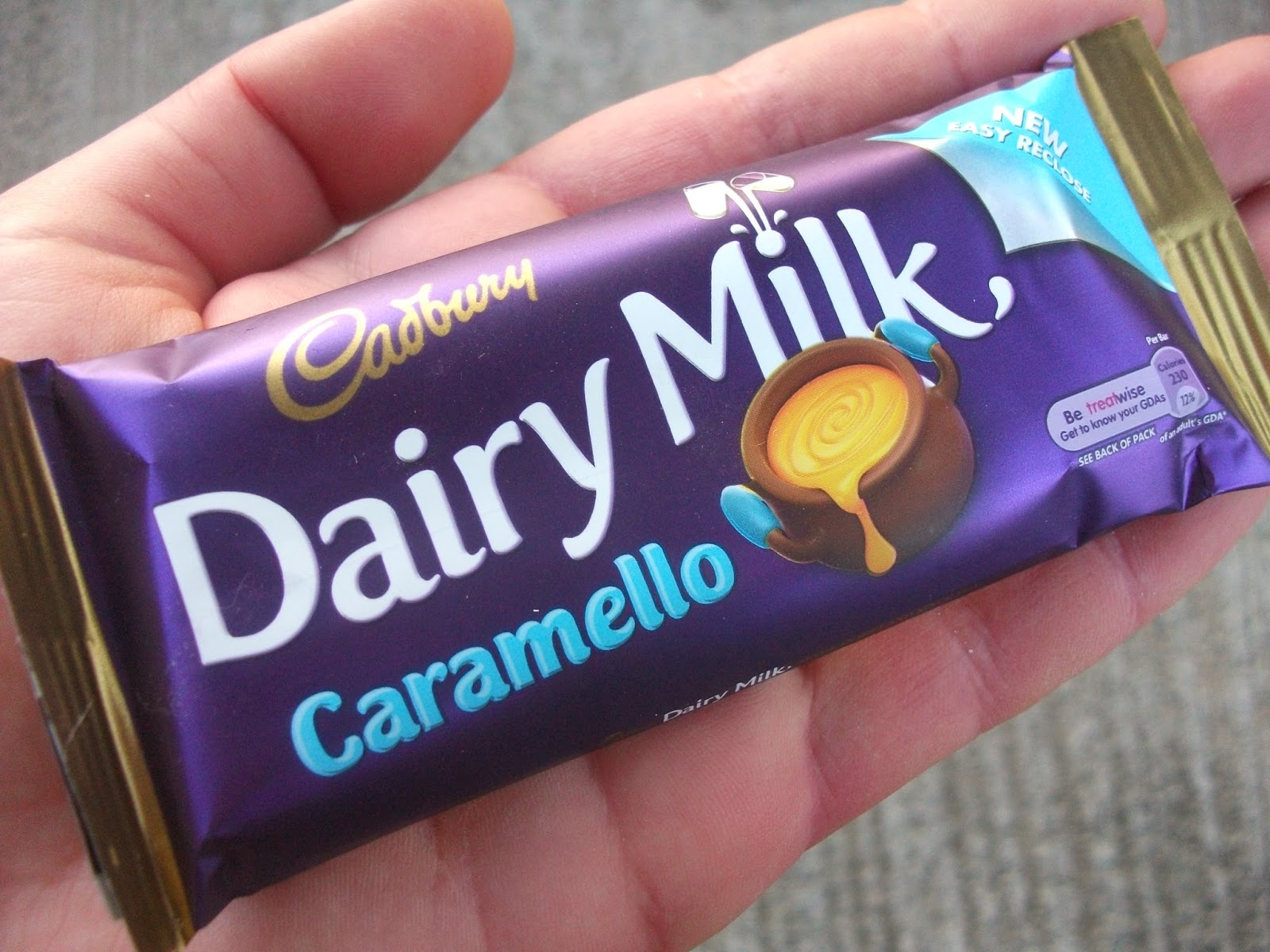 Caramello Candy Bar Wrapper