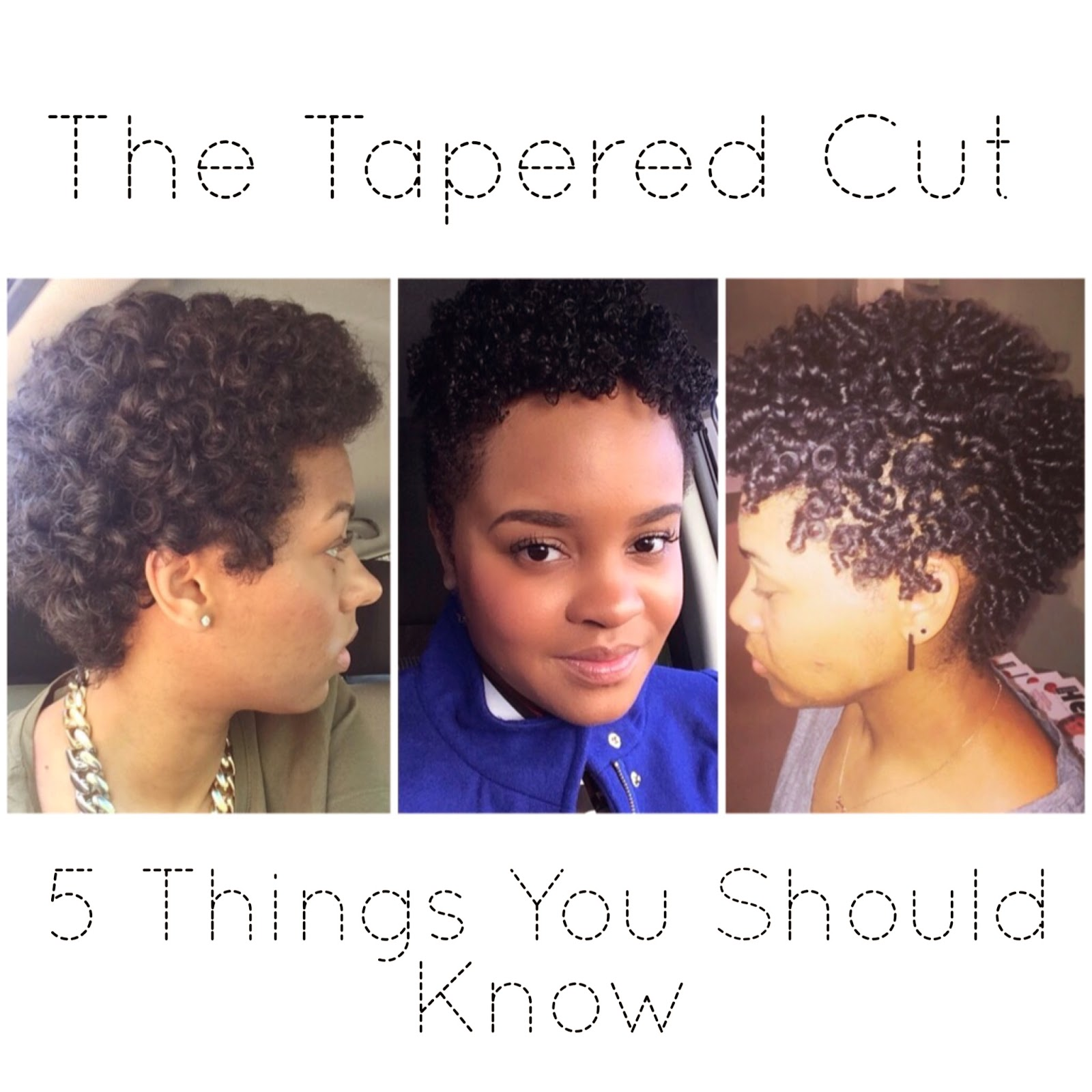 Call Her Candice So You Want A Tapered Cut 5 Things You Should Know