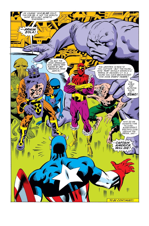 Captain America (1968) Issue #276 #192 - English 17