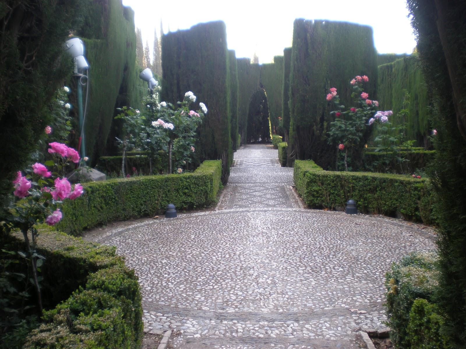El generalife alhambra el espacio de eli for Jardines generalife