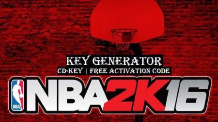 nba 2k16 activation key pc
