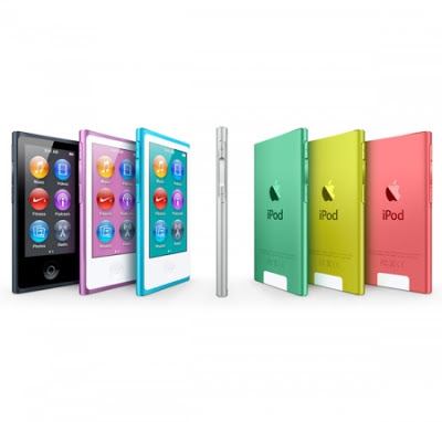 New ipod nano 8GB, 16GB