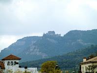 El Castell de Sant Martí de Centelles des de Can Casimiro