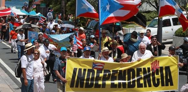 Tercera Marcha Independencia para Puerto Rico 2016