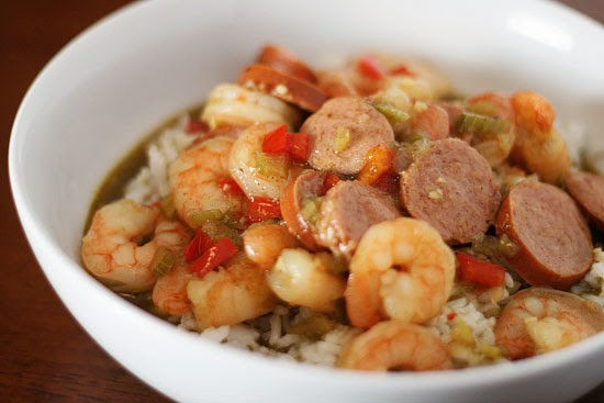Maryland Shrimp and Sausage Gumbo