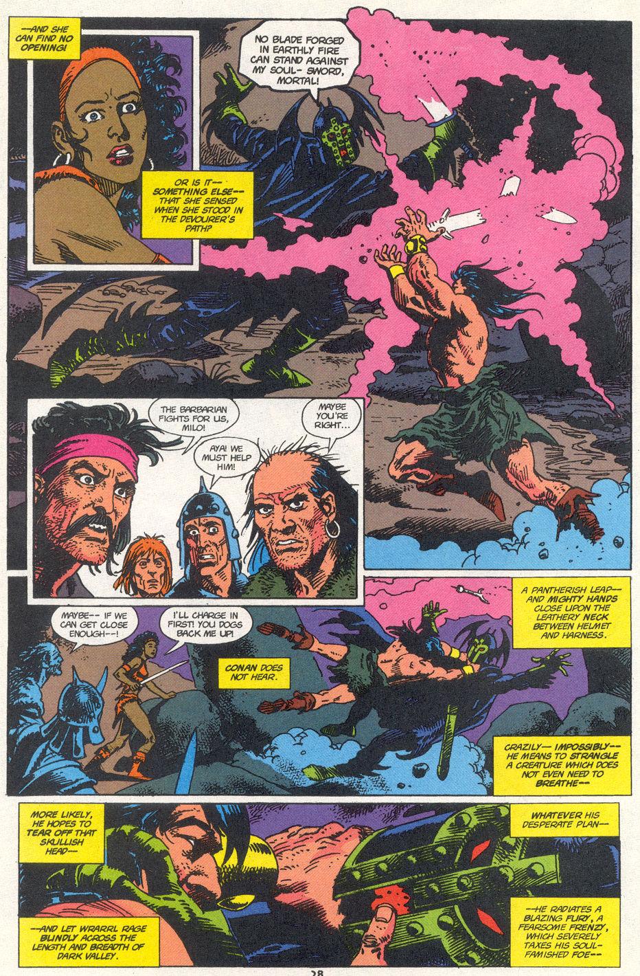 Conan the Barbarian (1970) Issue #272 #284 - English 20