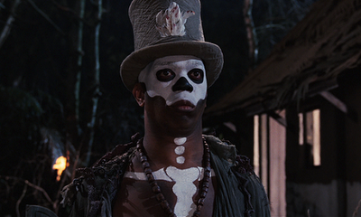 Roger Moore James Bond 007 Live And Let Die Baron Samedi