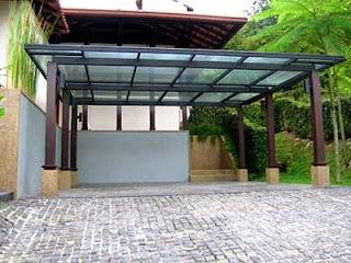 Jasa pembuatan canopy rumah dari baja ringan