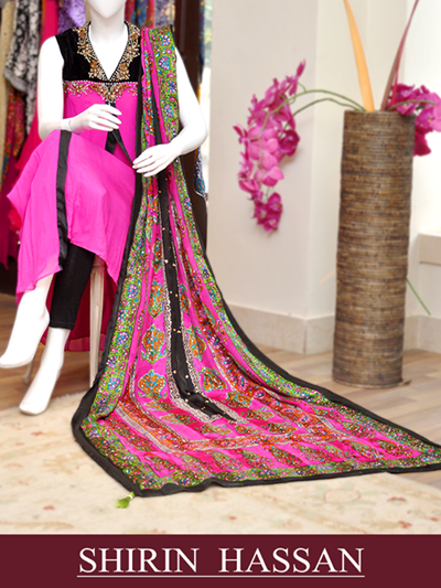 Shirin Hassan New Formal Wedding Wear Clothes For Women & Girls 2013-14