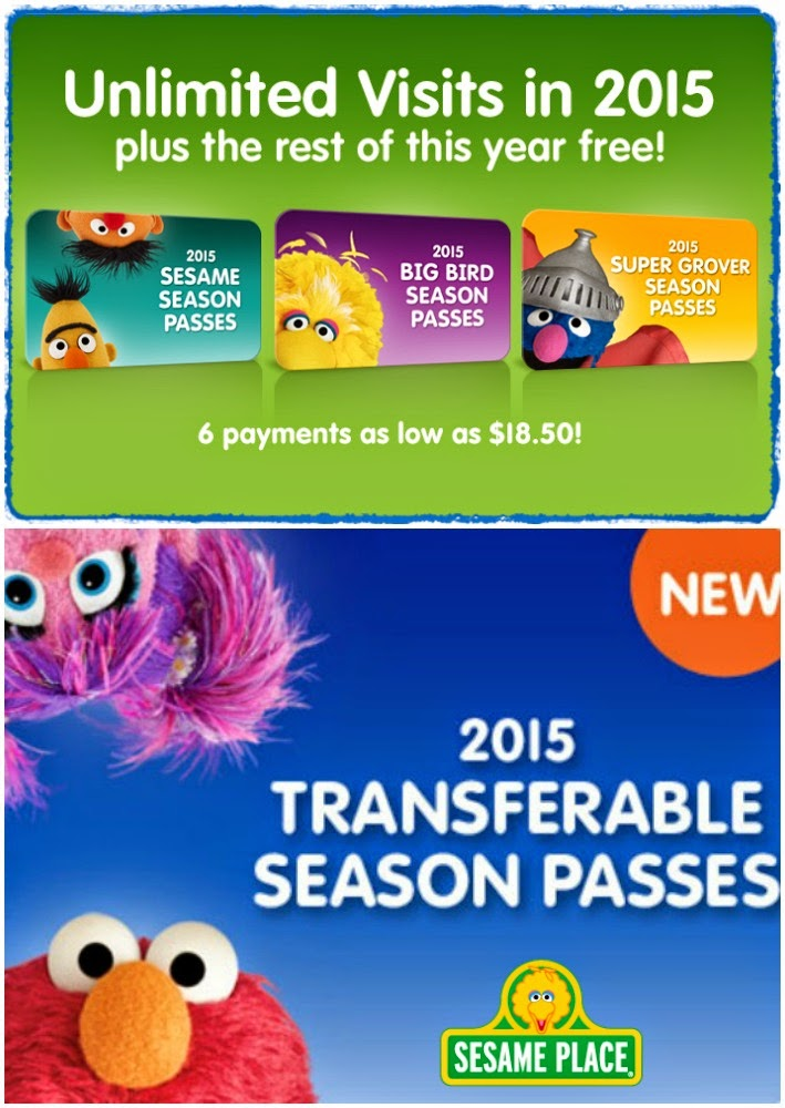 Coupons for sesame place season pass