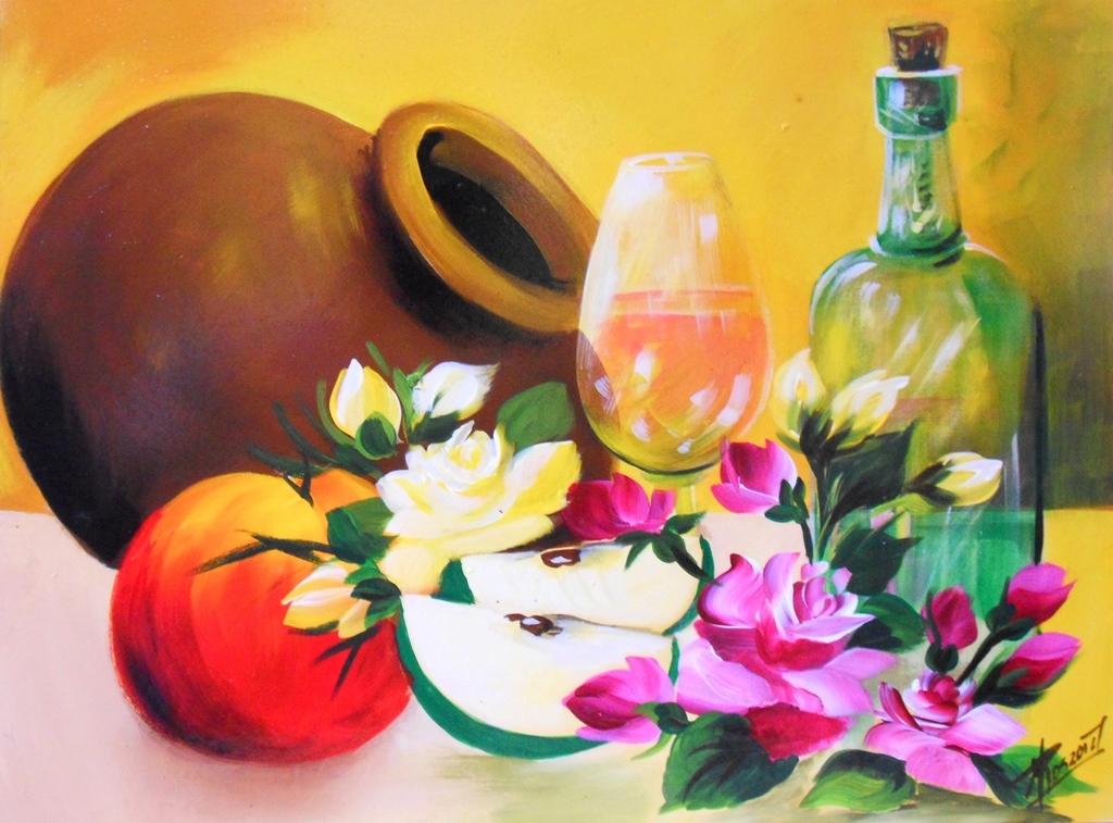 Cuadros modernos pinturas y dibujos bodegones f ciles de - Cuadros modernos faciles de pintar ...