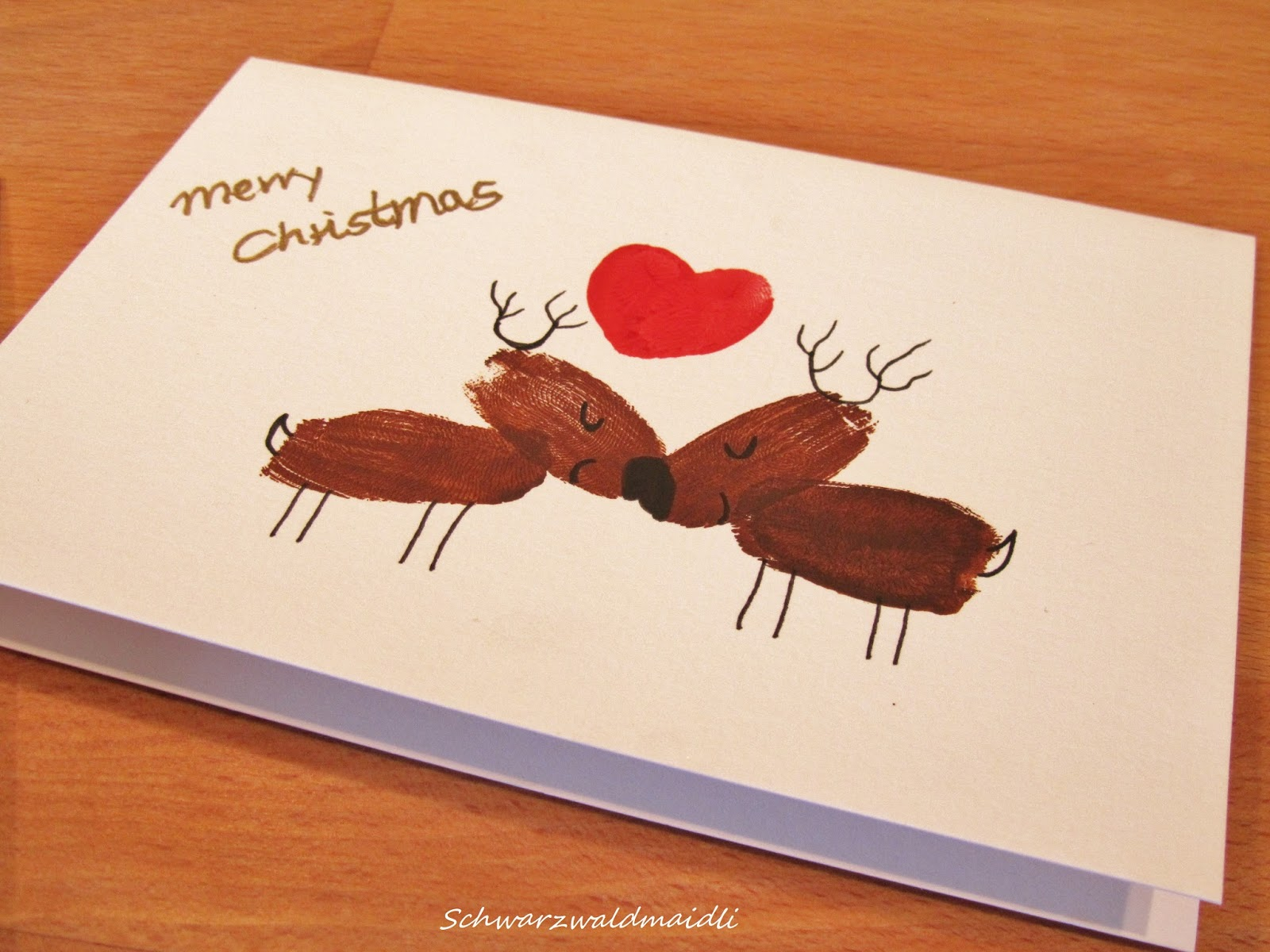 Xmas Card Craft Ideas