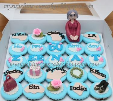 Birthday Cake Image Zeenat : Mysunshine Cake: personalize cupcakes for birthday