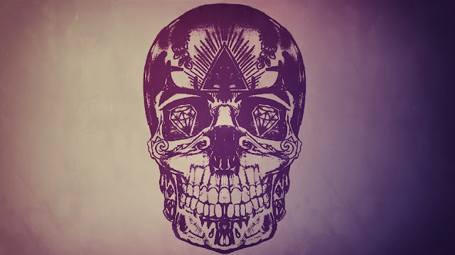 Fantasy Skull Art HD Wallpaper
